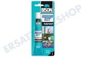 Bison 6305948 Waschmaschine Leim BISON -KIT- transparent Kontaktkleber