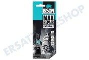 Bison 6309243  Leim Bison Max Repair Tube 8 Gramm, Polymax, Transparent
