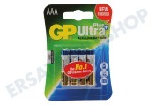 GP 03024AUPU4 LR03 AAA  Batterie GP Alkaline Ultra Plus 1,5 Volt, 4 Stk Pencil Ultra Plus Alkaline