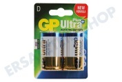 GP 03013AUPU2  LR20 Ultra Plus Alkaline D. Dicker Stab Ultra Plus Alkaline
