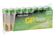 GP 03015AS16  LR6 Super Alkaline AA LR06