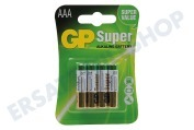 GP 03024AC4  LR03 AAA Micro Pencil Super alkalisch