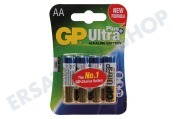 GP 03015AUPU4  LR6 Ultra Plus Alkaline AA Penlite Ultra Plus Alkaline