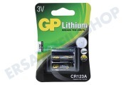 GP 070CR123AC2 CR123A  Batterie Fotobatterie DL123A 3V Lithium