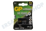 GP 070CR9VC1  6LR61 E-Block E-Block Lithium * 10 years für Rauchmelder *