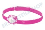 GP 260GPACTCH31001 CH31 GP Discovery  Stirnlampe Pink 40 Lumen, 2x CR2025 Batterie