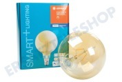 Osram 4058075208599  Smart+ Filament Gold Globelampe E27 Dimmbar E27 5,5 Watt, 600 lm 2500K