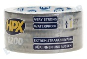 HPX CB5005  6200 Gewebeband Reparatur 48mm x 5m Duct Tape, 48mm x 5m