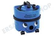 Numatic 909821 JVH-187  Staubsauger Inclusive Kit NA1,  620W 10M James Sky Blue, JVH-187-1