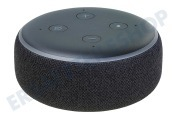 Amazon ECHODOT3GEN  Amazon Echo Dot, dritte Generation, Schwarz Alexa