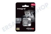 Integral  INMSDX64G10-90U1 Ultima Pro Micro SDHC Class 10 64GB 90MB/s Micro SDHC-Karte 64GB 90MB/s