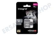 Integral  INMSDX128G10-90U1 Ultima Pro Micro SDHC Class 10 128 GB 90 MB / s Micro SDHC-Karte 128 GB, 90 MB / s