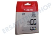 Canon CANBP545P  Druckerpatrone PG 545 Schwarz + CL 546 Farbe Pixma MG2450, MG2550