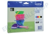 Brother 2455723 LC-221 Brother-Drucker Druckerpatrone LC221 Multi DCP-J562DW, MFC-J480DW, MFC-J680DW, MFC-J880DW