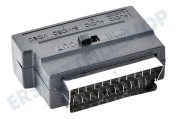 Easyfiks  Scart-Steckeradapter Male - 3x Cinch-RCA-Buchse + S-VHS Steckeradapter