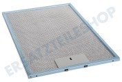 Ariston 23865 Abzugshaube Filter Metall in Halterung 246x365 LSK980, LSK986, RSK981