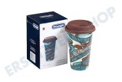 Braun 5513281021 DLSC055  Thermosbecher keramischer, doppelwandiger Becher The Taster, 350 ml