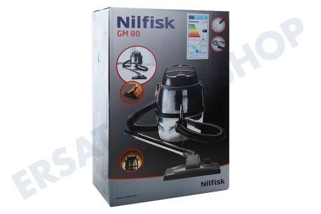 nilfisk gm80 nilfisk staubsauger grau 107418491. Black Bedroom Furniture Sets. Home Design Ideas
