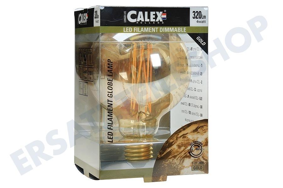 Calex Lampen Action : Calex calex led vollglas filament globe lampe v