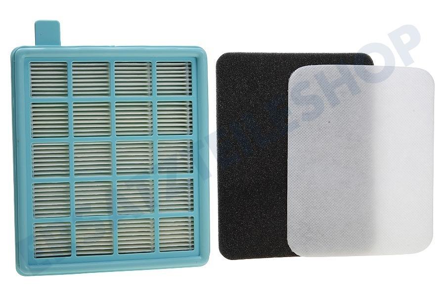 2x HEPA Abluft-Filter für Philips PowerProActive FC8631//01 FC8634//01