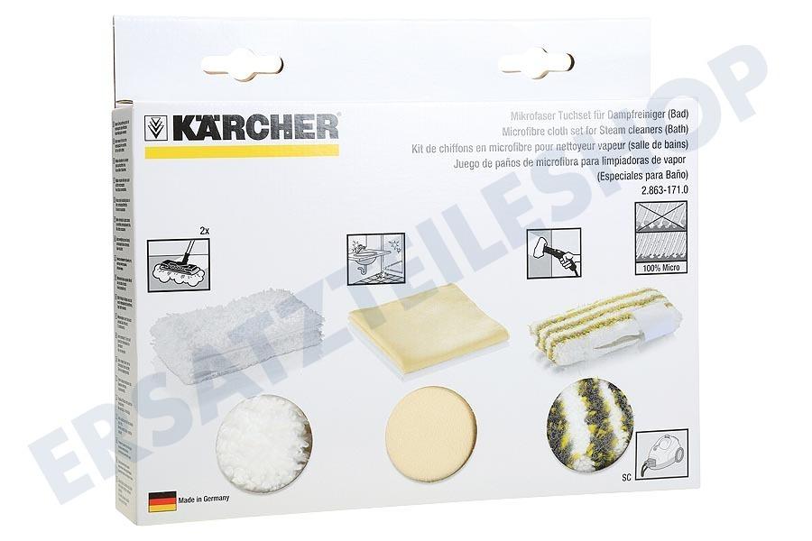 Karcher 2 863 171 0 Mikrofasertuchset Badezimmer 28631710