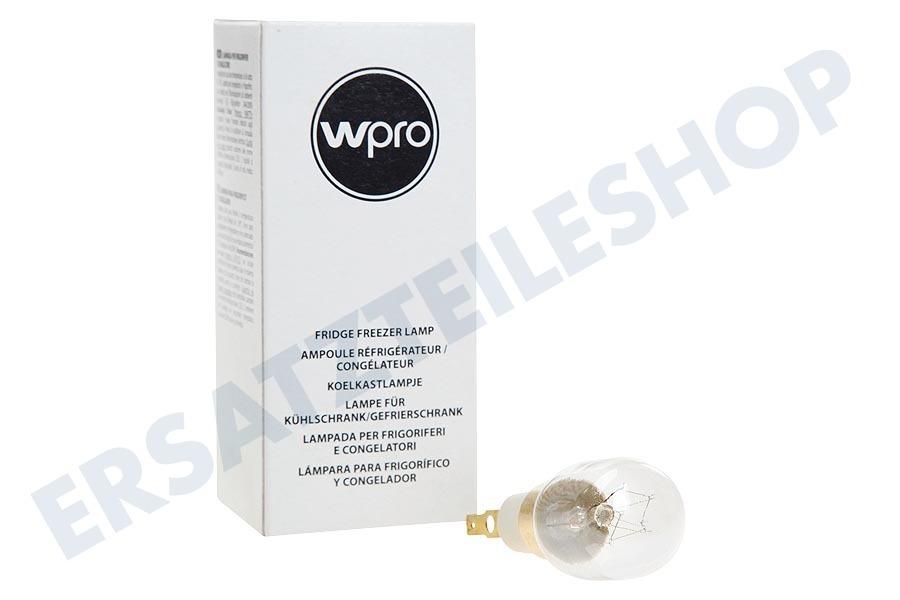 Kühlschrank Lampe 15w : Wpro lrt139 lampe 484000000979 kühlschrank
